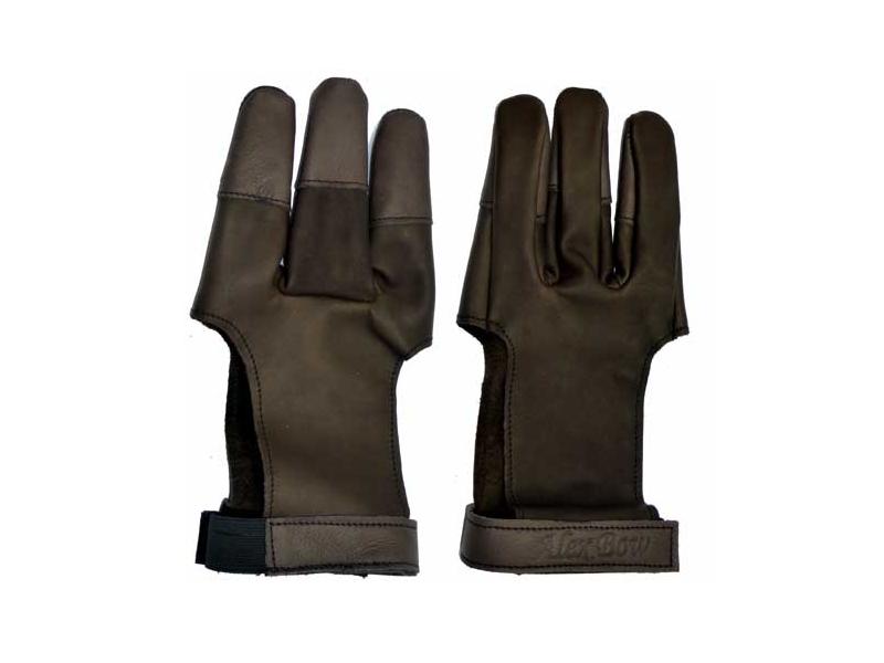Střelecká rukavice z jelenní kůže