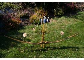 Bow and arrow stand