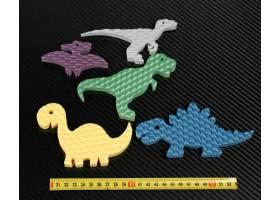 Dynosaurus Zielscheiben 5 stuck