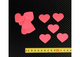 Herz Zielscheiben 30 stuck